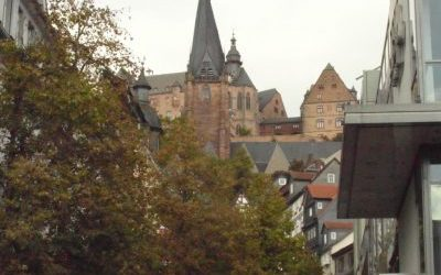 Vrijdag 28 November Marburg bij nacht