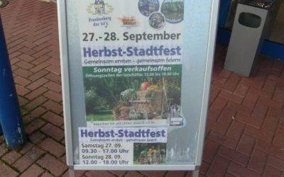 27 t/m 28 September Herbststadtfest Frankenberg