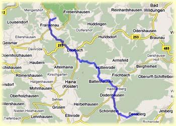 Route Kellerwald Turm