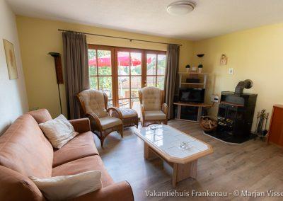 Vakantiehuis Frankenau - Woonkamer