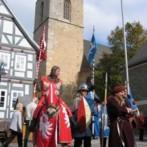 De Mittelalterlicher markt in Korbach is van 07-10-2017 t/m 08-10-2017