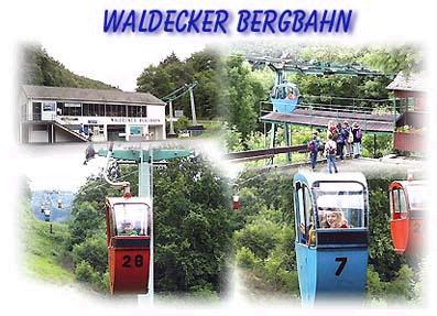Kabelbaan kasteel Waldeck