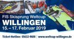 15 t/m 17 Februari FIS Skisprung Weltcup Willingen