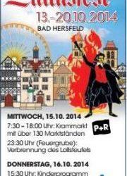 13 t/m 20 Oktober Lullusfeest in Bad Herzfeld
