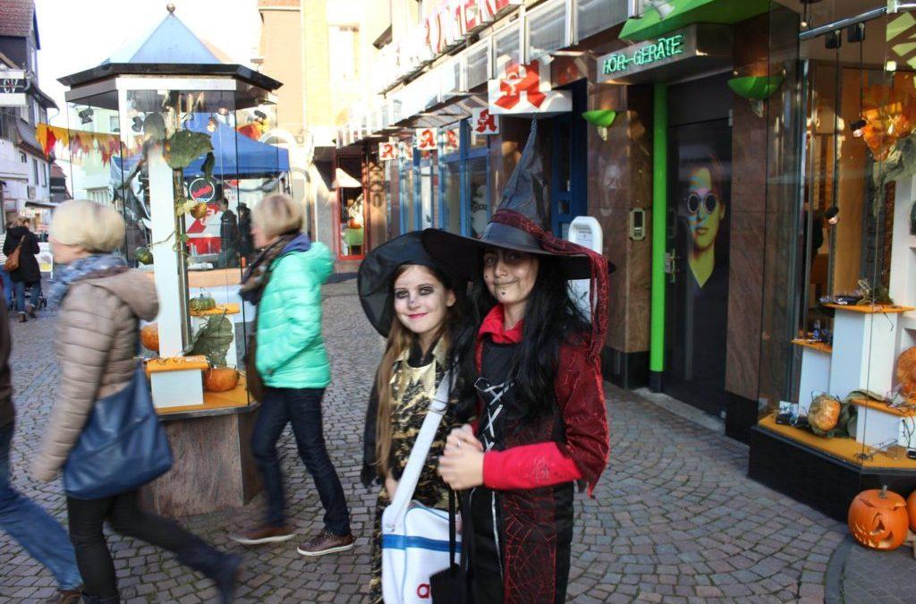 28-10-2017 Halloween Midnight Shopping in Frankenberg