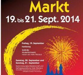 19 t/m 21 September Herfstmarkt Korbach