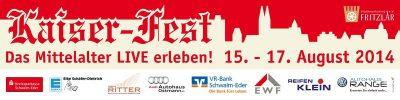 15 t/m 17 Augustus Kaiserfest  in Fritzlar
