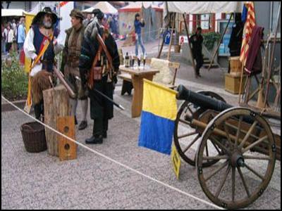 De Mittelalterlicher markt in Korbach