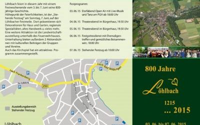 Löhlbach bestaat 800 jaar