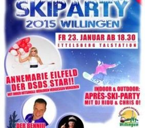 Vrijdag 23 Januari Skiparty Ettelsberg Willingen