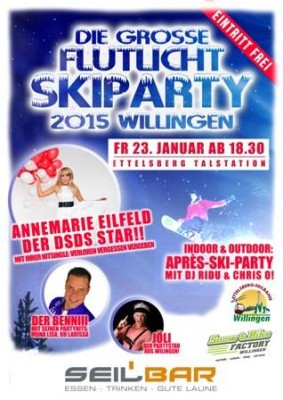 Vrijdag 23 Januari Skiparty Ettelsberg Willingen