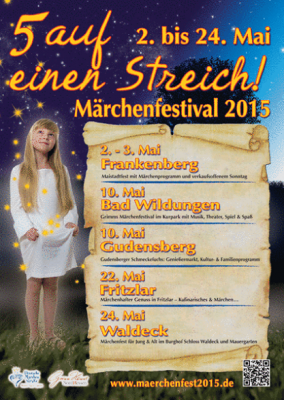 Van 2 t/m 24 Mei sprookjesfestival