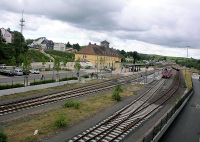 trein station frankenberg