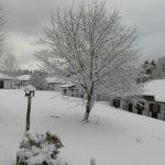 Vakantiehuis Frankenau - Uitzicht in de Winter