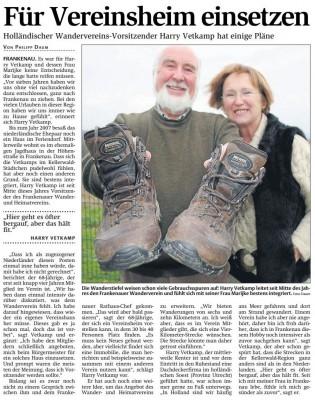 3 December uit de Frankenberger Algemeine krant