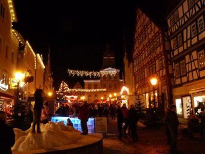 Donderdag 11 December t/m Zondag 14 December Weihnachtsmarkt in Bad Wildungen