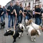 Ziegenbockkirmis in Frankenau